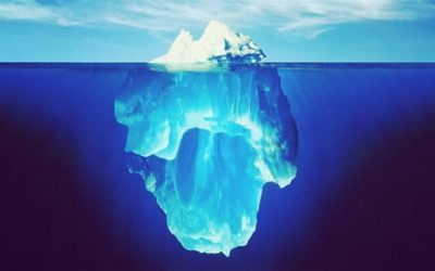 The Iceberg Of Our Unhappy Habits